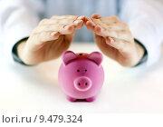 Купить «Protect your money », фото № 9479324, снято 20 февраля 2019 г. (c) PantherMedia / Фотобанк Лори