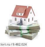 Купить «House on stack of polish zlotys», фото № 9482024, снято 20 февраля 2019 г. (c) PantherMedia / Фотобанк Лори