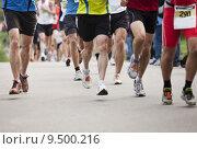 Купить «Marathon Runners», фото № 9500216, снято 20 октября 2018 г. (c) PantherMedia / Фотобанк Лори