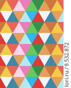 Купить «geometric colorful background», иллюстрация № 9532872 (c) PantherMedia / Фотобанк Лори