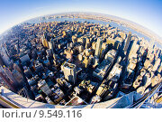 Купить «view of Manhattan from The Empire State Building, New York City, USA», фото № 9549116, снято 26 марта 2019 г. (c) PantherMedia / Фотобанк Лори