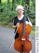 Купить «Female cellist.», фото № 9550556, снято 3 июля 2020 г. (c) PantherMedia / Фотобанк Лори