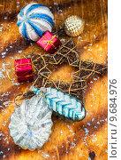 Купить «Старые новогодние елочные игрушки», фото № 9684976, снято 14 августа 2015 г. (c) Николай Лунев / Фотобанк Лори