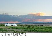 Купить «Mongolian landscape», фото № 9687716, снято 20 июня 2019 г. (c) PantherMedia / Фотобанк Лори