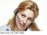 Купить «woman face work office job», фото № 9735760, снято 23 сентября 2018 г. (c) PantherMedia / Фотобанк Лори