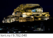 Купить «Morella at night, Comunidad Valenciana, Spain», фото № 9782040, снято 22 октября 2018 г. (c) PantherMedia / Фотобанк Лори