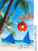 Купить «tropical beach», фото № 9801416, снято 5 апреля 2020 г. (c) PantherMedia / Фотобанк Лори