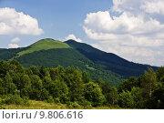 Купить «Carpathians, Bieszczady, polish green mountains.», фото № 9806616, снято 20 марта 2018 г. (c) PantherMedia / Фотобанк Лори