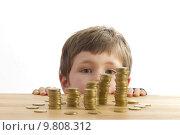 Купить «young child education money crisis», фото № 9808312, снято 10 октября 2019 г. (c) PantherMedia / Фотобанк Лори