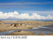 Купить «Chain of lagoons, island Djerba, Tunisia, North Africa», фото № 9816608, снято 26 марта 2019 г. (c) PantherMedia / Фотобанк Лори