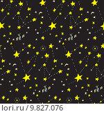 Купить «Seamless Constellation Background», иллюстрация № 9827076 (c) PantherMedia / Фотобанк Лори