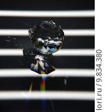 Купить «ray jewel refraction prism farbspektrum», фото № 9834380, снято 18 ноября 2018 г. (c) PantherMedia / Фотобанк Лори