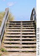 Купить «beach bridge seaside seashore stairs», фото № 9838188, снято 19 августа 2019 г. (c) PantherMedia / Фотобанк Лори