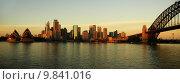 Купить «sydney panorama», фото № 9841016, снято 3 апреля 2020 г. (c) PantherMedia / Фотобанк Лори