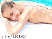 Купить «Woman taking spa treatment», фото № 9921624, снято 25 июня 2019 г. (c) PantherMedia / Фотобанк Лори