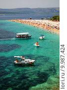 Купить «Golden Cape on Brac island, Croatia», фото № 9987424, снято 25 июня 2019 г. (c) PantherMedia / Фотобанк Лори