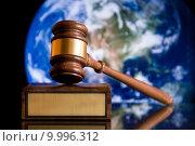 Justice Gavel. Стоковое фото, фотограф Yanik Chauvin / PantherMedia / Фотобанк Лори