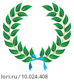 Купить «Winner Laurel wreath», иллюстрация № 10024408 (c) PantherMedia / Фотобанк Лори