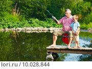 Купить «Summer fishing», фото № 10028844, снято 22 октября 2018 г. (c) PantherMedia / Фотобанк Лори