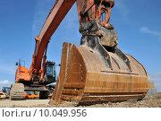 Купить «scoop construction site dredger baggern», фото № 10049956, снято 20 марта 2019 г. (c) PantherMedia / Фотобанк Лори