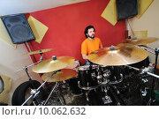 drum music player. Стоковое фото, фотограф benis arapovic / PantherMedia / Фотобанк Лори