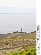 Купить «Lighthouse at Volcano dos Capelinhos», фото № 10203996, снято 17 июля 2019 г. (c) PantherMedia / Фотобанк Лори