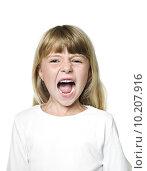 Купить «Screaming Girl», фото № 10207916, снято 22 июля 2018 г. (c) PantherMedia / Фотобанк Лори