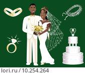 Купить «Wedding Icons», фото № 10254264, снято 21 июля 2018 г. (c) PantherMedia / Фотобанк Лори
