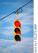 Купить «Stoplight on red», фото № 10273484, снято 18 февраля 2019 г. (c) PantherMedia / Фотобанк Лори