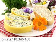 Купить «cheese herbs stuffed fillet starter», фото № 10346100, снято 26 мая 2020 г. (c) PantherMedia / Фотобанк Лори