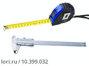 Купить «Measuring tools», фото № 10399032, снято 23 октября 2018 г. (c) PantherMedia / Фотобанк Лори