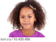Cute young African Asian girl. Стоковое фото, фотограф Borges Samuel / PantherMedia / Фотобанк Лори