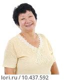 Купить «Asian senior woman», фото № 10437592, снято 16 августа 2018 г. (c) PantherMedia / Фотобанк Лори