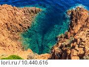 Купить «Beautiful Scenic Coastline on the French Riviera near Cannes», фото № 10440616, снято 23 марта 2019 г. (c) PantherMedia / Фотобанк Лори