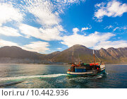Купить «Fishing boat, Hout Bay», фото № 10442936, снято 18 июня 2019 г. (c) PantherMedia / Фотобанк Лори