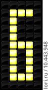 Купить «Vector illustration of console scoreboard number icon », иллюстрация № 10443948 (c) PantherMedia / Фотобанк Лори