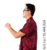 Купить «Side view Asian Chinese man», фото № 10444924, снято 22 февраля 2019 г. (c) PantherMedia / Фотобанк Лори