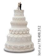 Купить «Wedding Cake», фото № 10498312, снято 26 апреля 2018 г. (c) PantherMedia / Фотобанк Лори