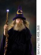 Купить «Wizard Portrait», фото № 10498368, снято 23 января 2019 г. (c) PantherMedia / Фотобанк Лори