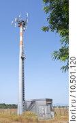 antenna for telecommunications. Стоковое фото, фотограф pamela panella / PantherMedia / Фотобанк Лори