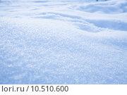 Купить «Fresh snow background», фото № 10510600, снято 21 октября 2018 г. (c) PantherMedia / Фотобанк Лори