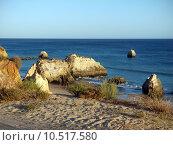 Купить «Picturesque beaches of the Algarve», фото № 10517580, снято 18 июня 2019 г. (c) PantherMedia / Фотобанк Лори