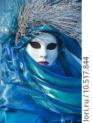 Купить «costume carnival venice masked disguised», фото № 10517844, снято 22 июля 2019 г. (c) PantherMedia / Фотобанк Лори