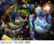 Купить «Advance of Fractal Turbulence», иллюстрация № 10541488 (c) PantherMedia / Фотобанк Лори