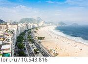 Купить «Copacabana Beach», фото № 10543816, снято 15 ноября 2018 г. (c) PantherMedia / Фотобанк Лори
