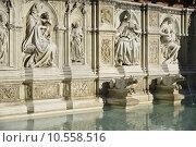 Купить «Fonte Gaia (Siena)», фото № 10558516, снято 26 марта 2019 г. (c) PantherMedia / Фотобанк Лори
