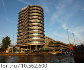 Купить «Altra Centraal Bureau in Amsterdamcity - capital of Holland», фото № 10562600, снято 22 июля 2019 г. (c) PantherMedia / Фотобанк Лори