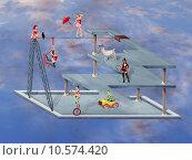 Купить «Impossible Circus», фото № 10574420, снято 9 июля 2020 г. (c) PantherMedia / Фотобанк Лори