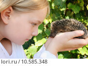 Купить «young girl hand child wild», фото № 10585348, снято 30 мая 2020 г. (c) PantherMedia / Фотобанк Лори