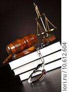 Купить «Legal gavel on a law book », фото № 10612604, снято 6 июля 2020 г. (c) PantherMedia / Фотобанк Лори
